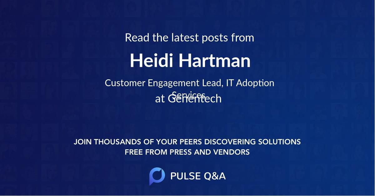 Heidi Hartman