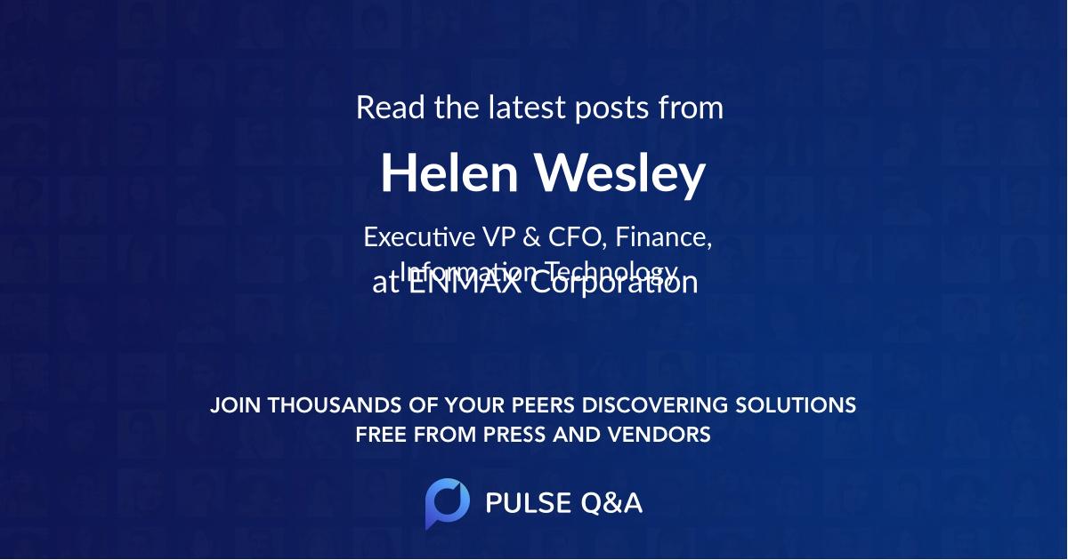 Helen Wesley