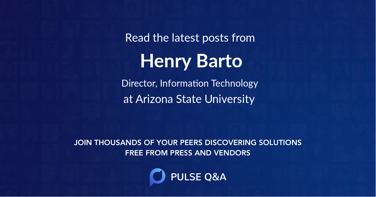 Henry Barto