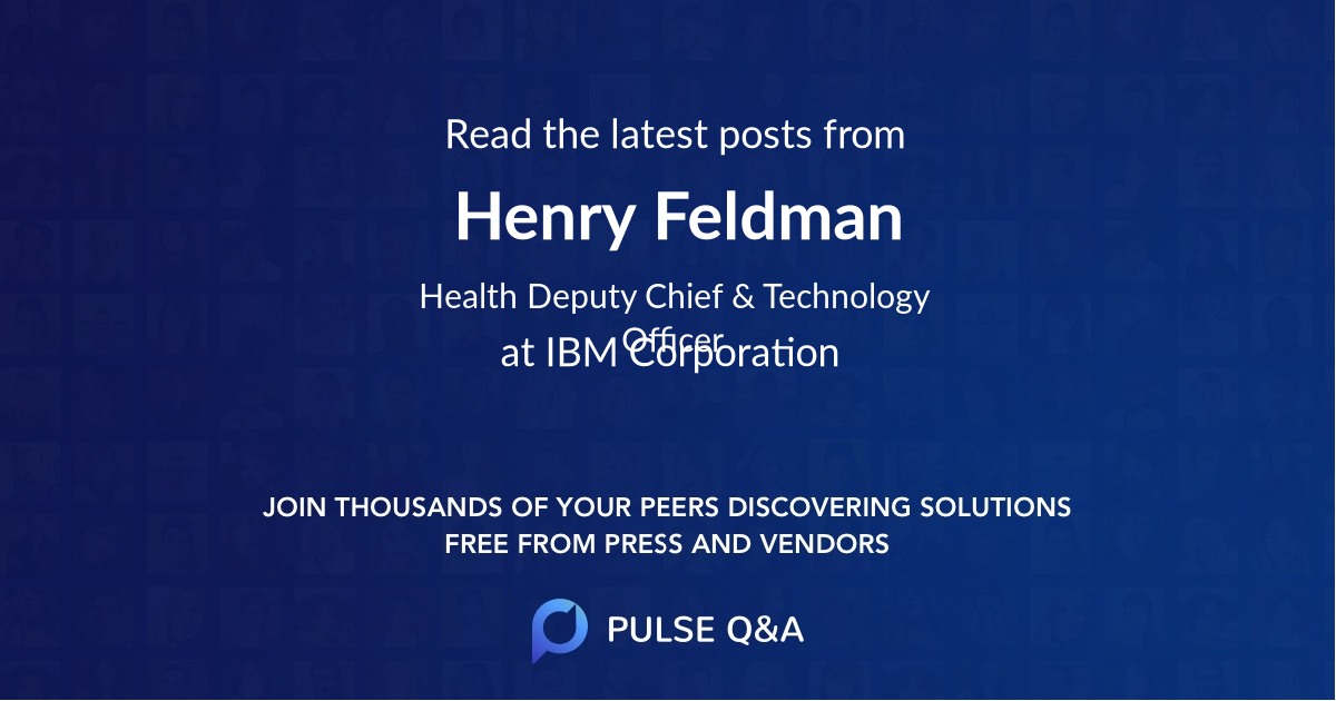 Henry Feldman
