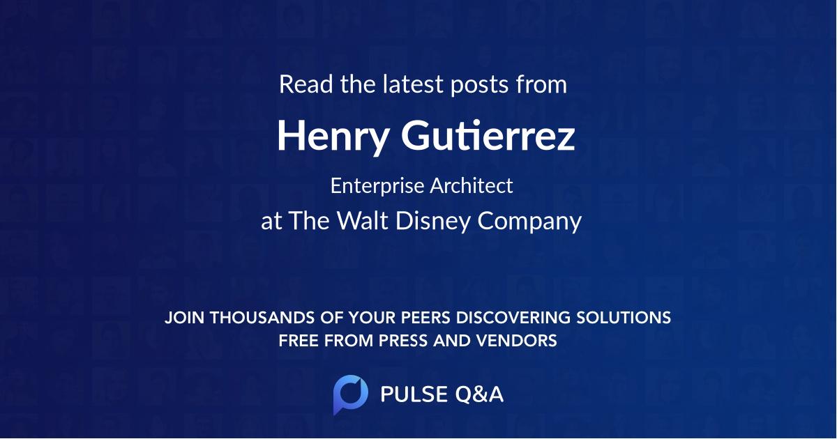 Henry Gutierrez