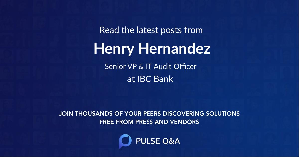 Henry Hernandez