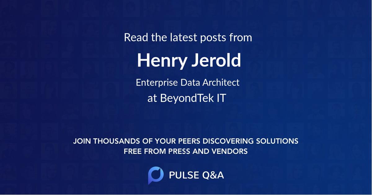 Henry Jerold