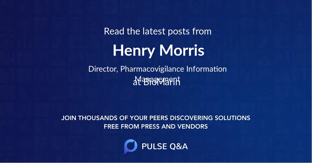 Henry Morris
