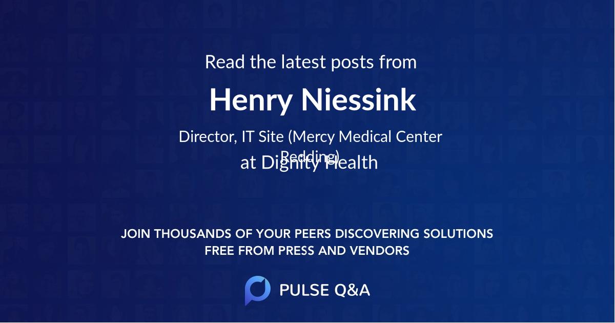 Henry Niessink