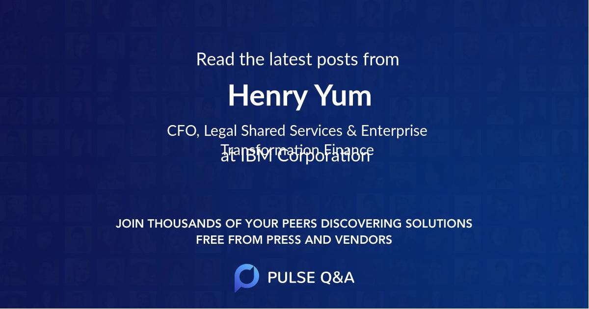 Henry Yum