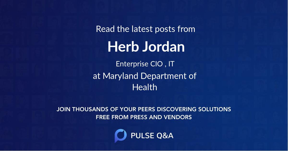 Herb Jordan