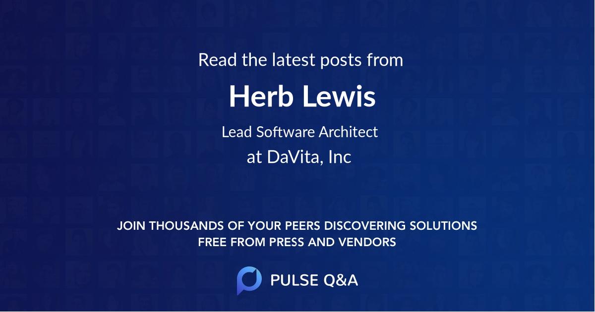 Herb Lewis