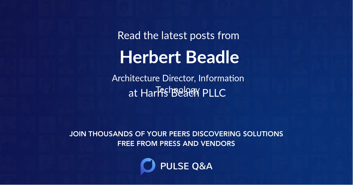 Herbert Beadle