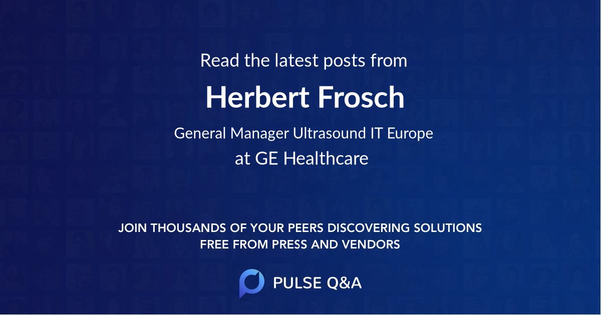 Herbert Frosch