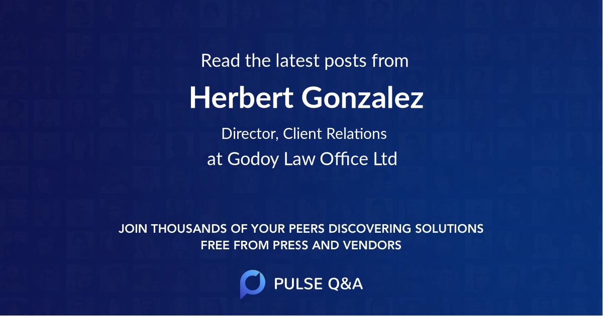 Herbert Gonzalez