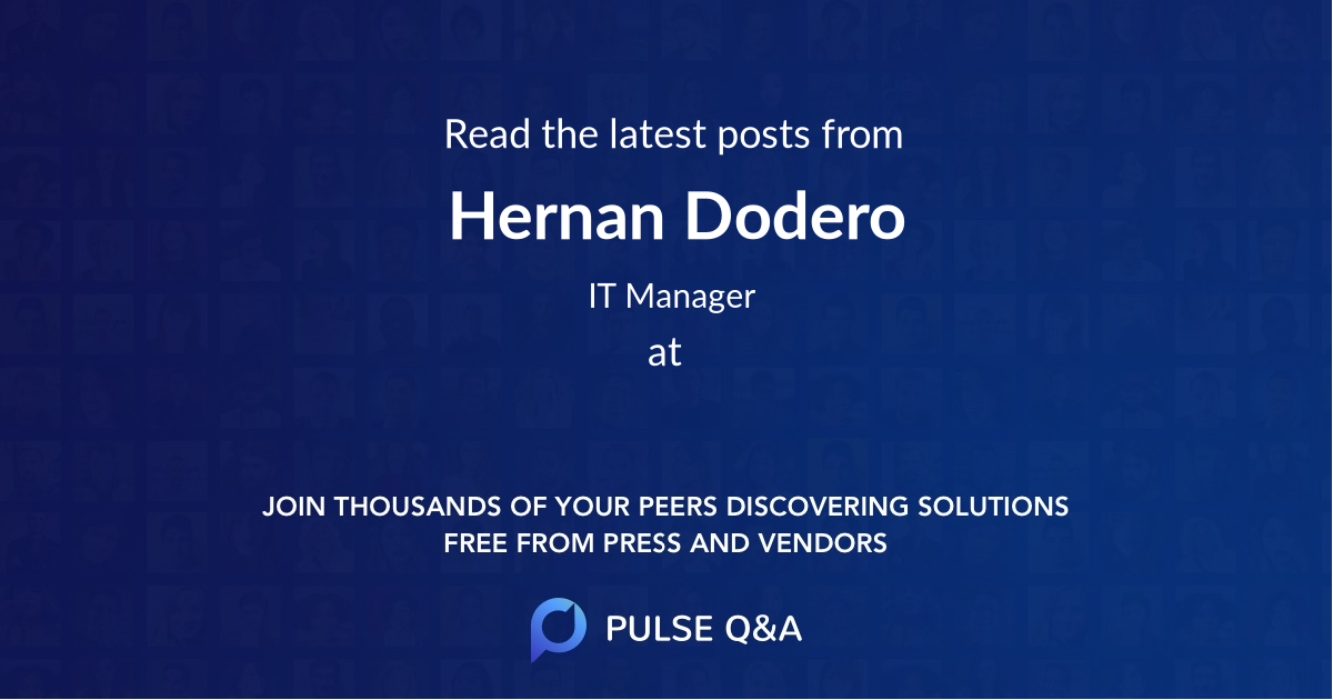 Hernan Dodero