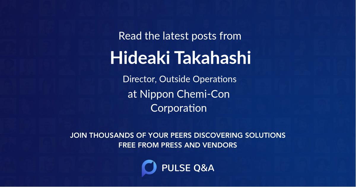 Hideaki Takahashi