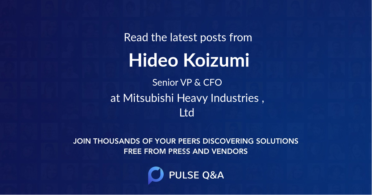 Hideo Koizumi
