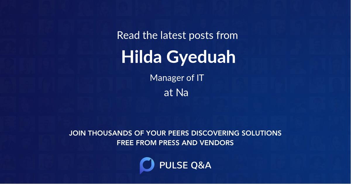 Hilda Gyeduah