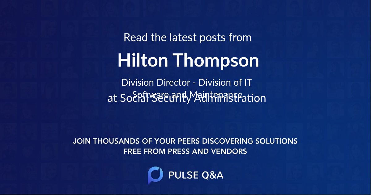 Hilton Thompson