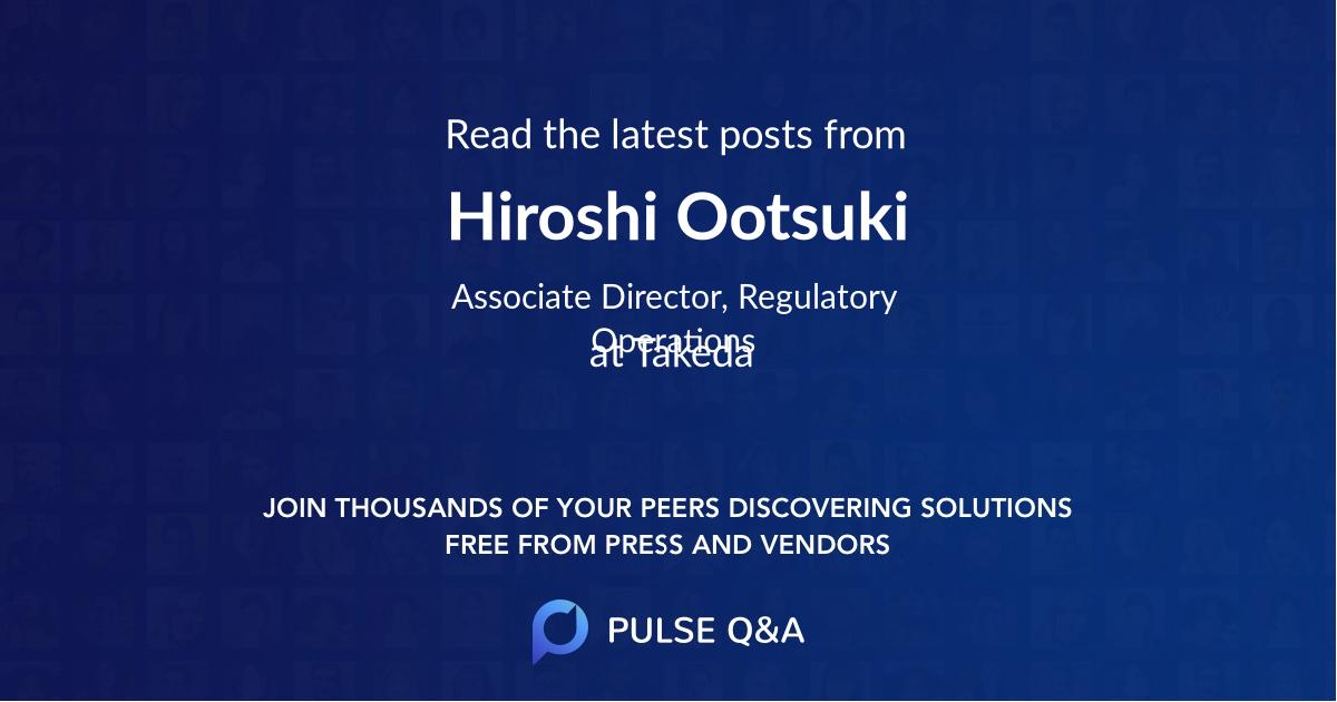Hiroshi Ootsuki