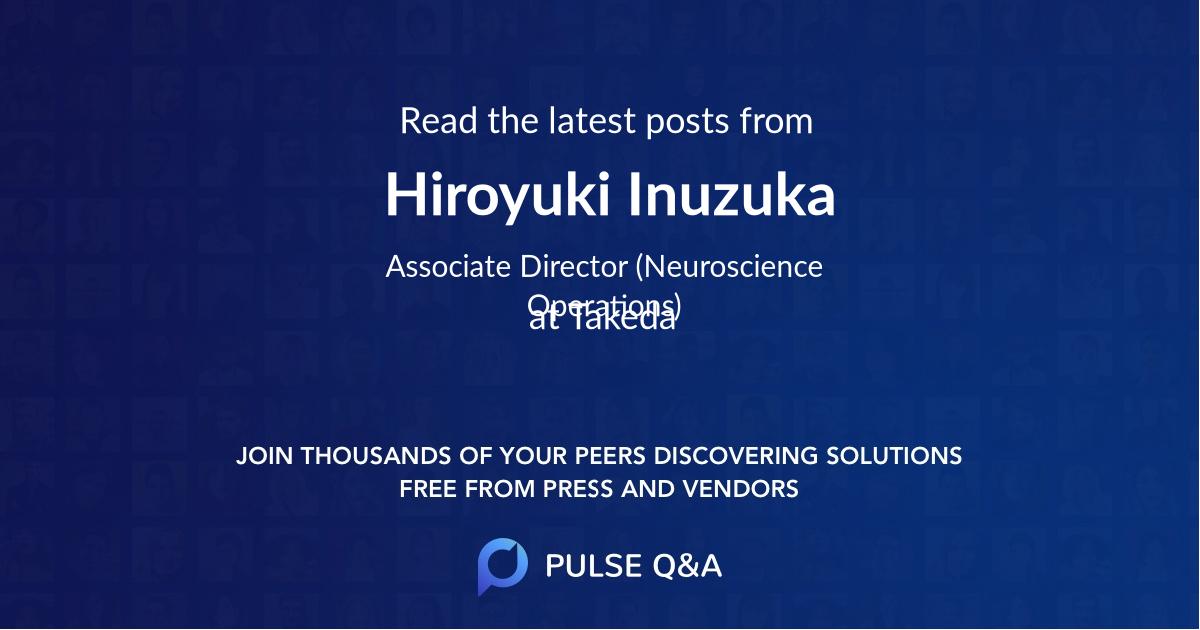 Hiroyuki Inuzuka