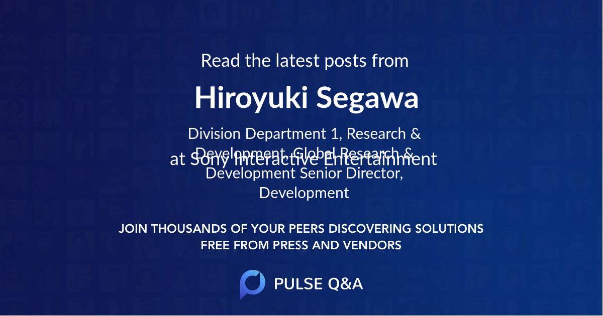 Hiroyuki Segawa