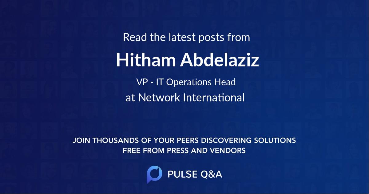 Hitham Abdelaziz