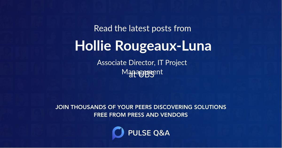 Hollie Rougeaux-Luna