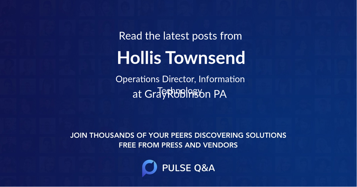 Hollis Townsend