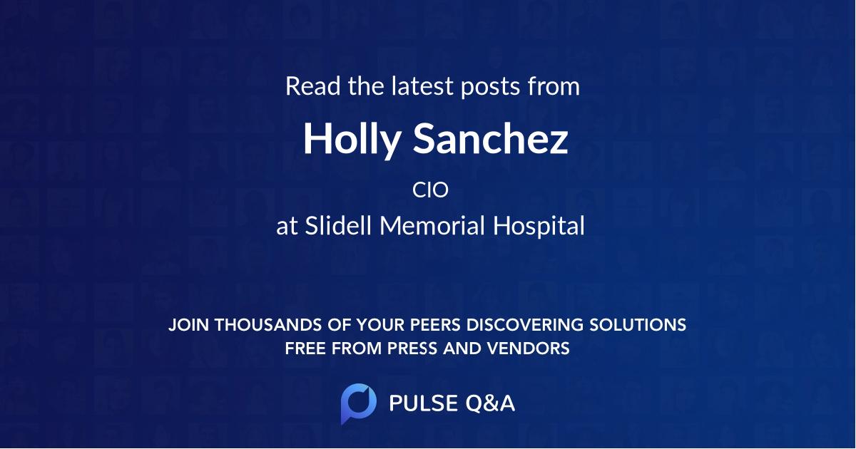 Holly Sanchez
