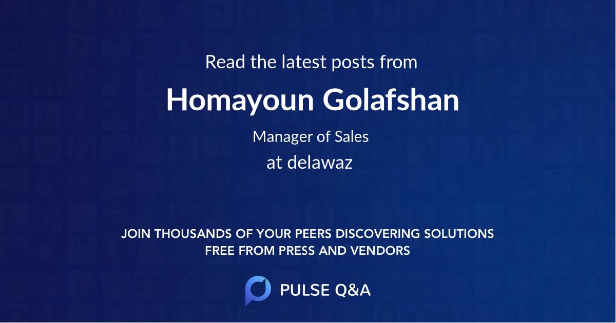 Homayoun Golafshan
