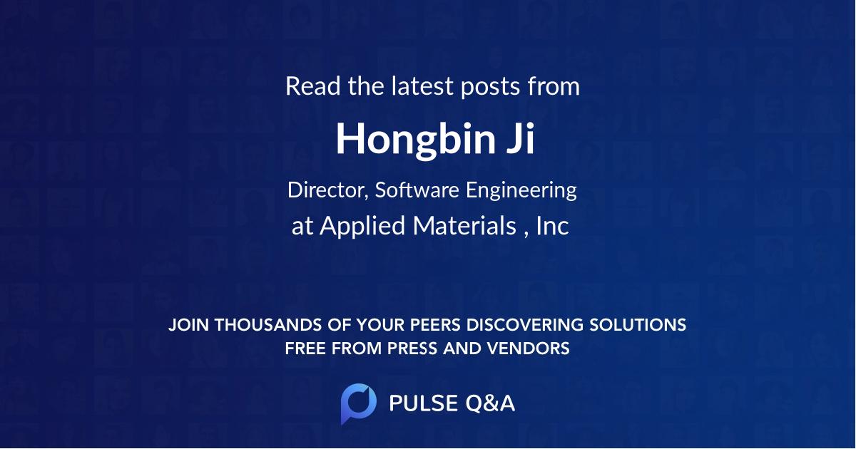 Hongbin Ji