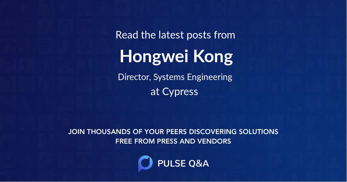 Hongwei Kong