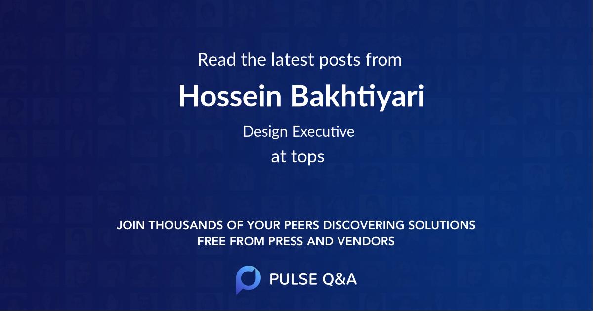 Hossein Bakhtiyari