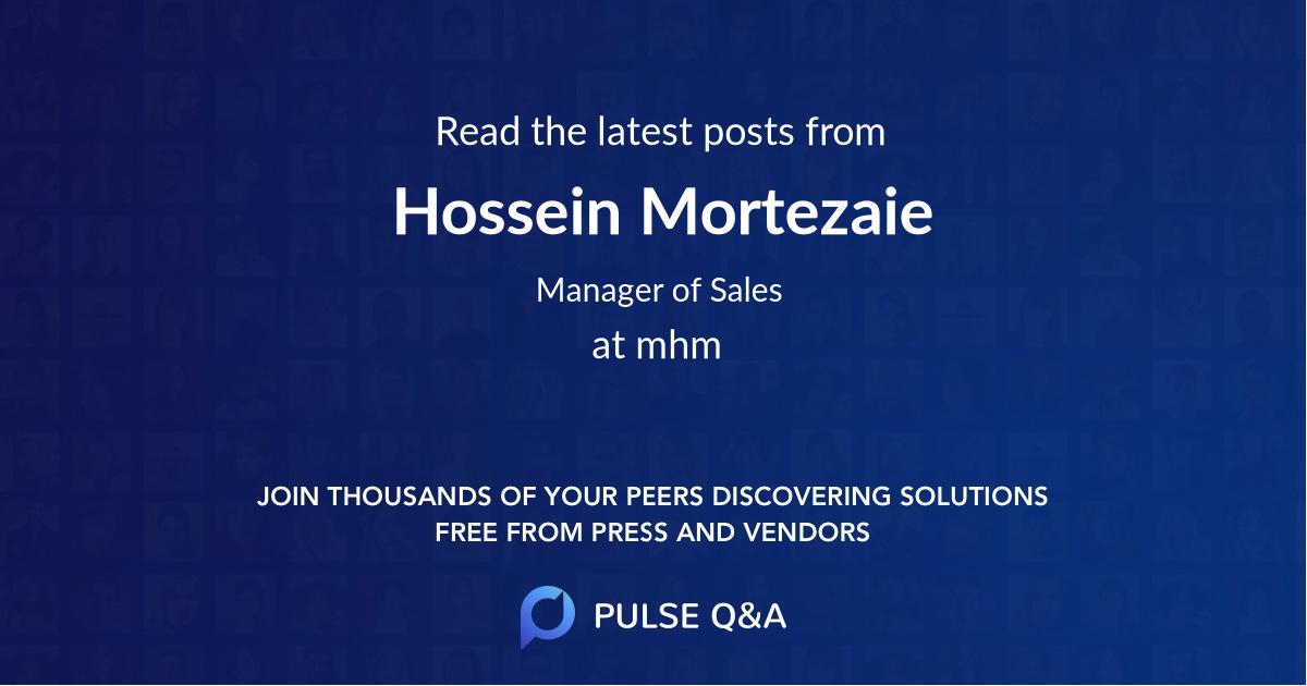 Hossein Mortezaie