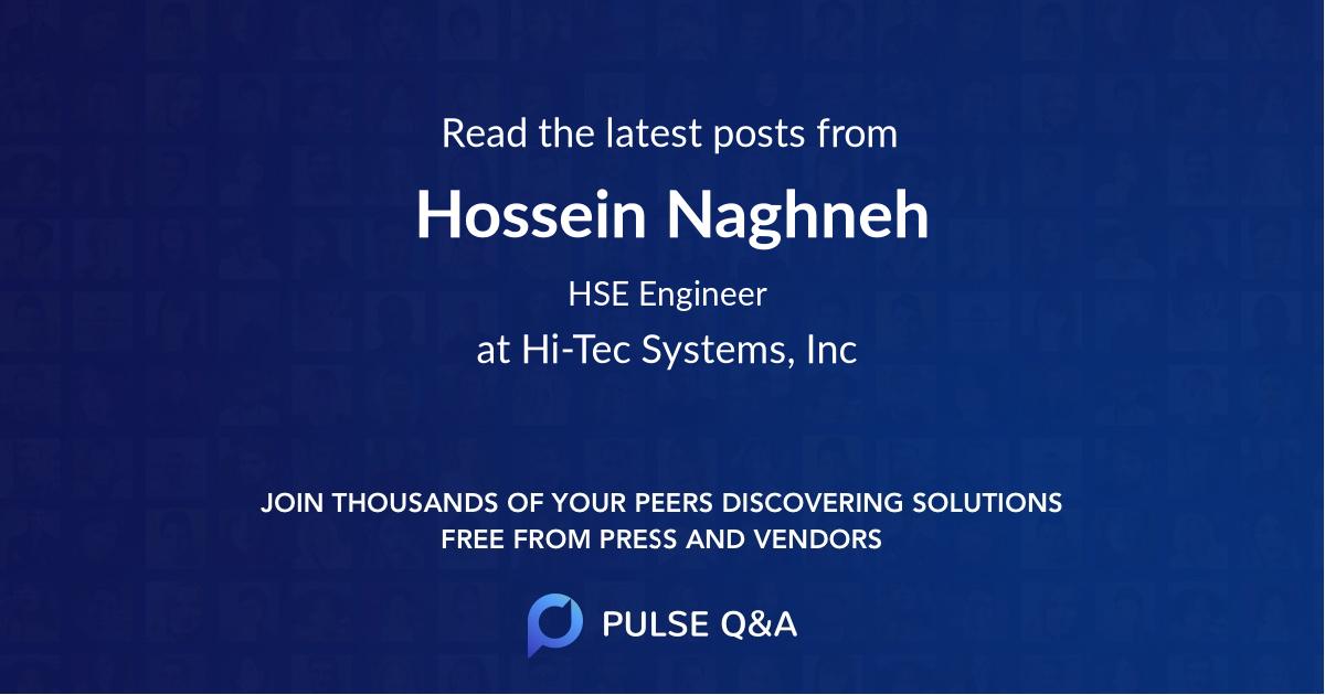 Hossein Naghneh