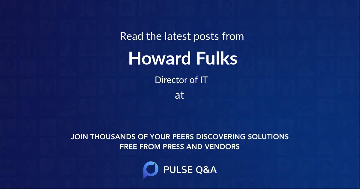 Howard Fulks