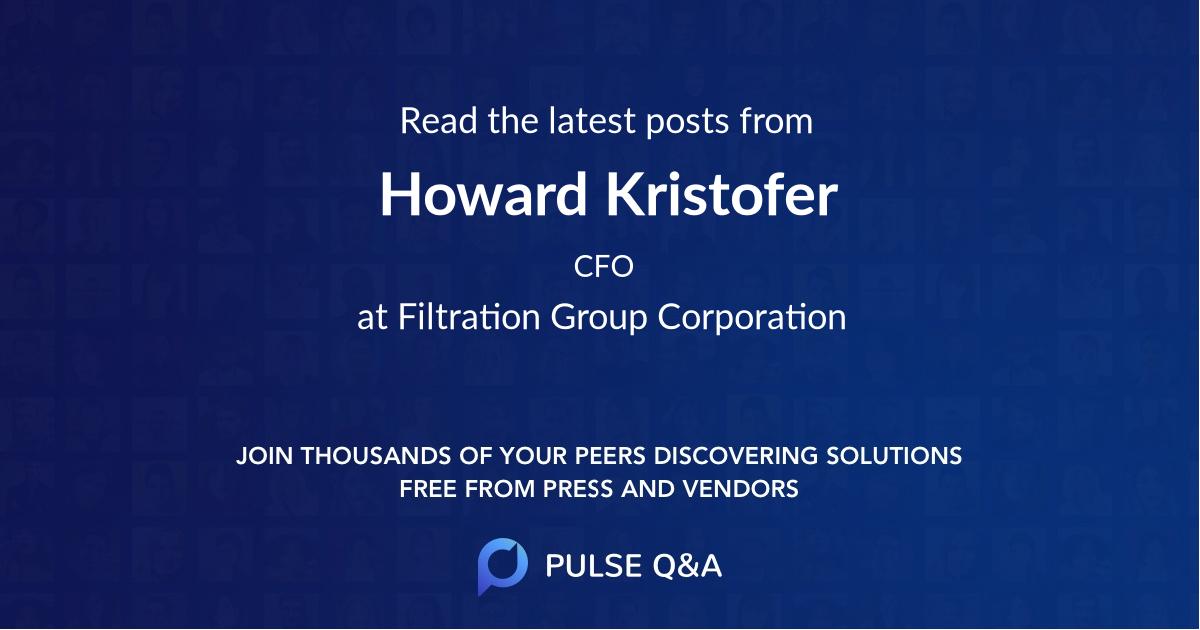 Howard Kristofer