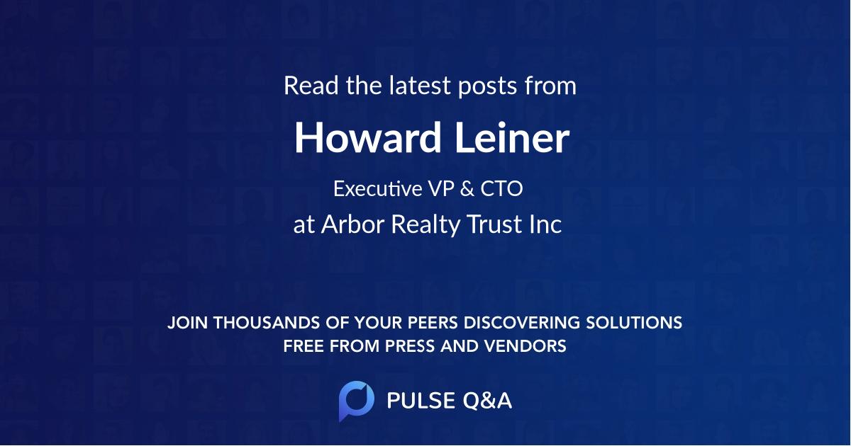 Howard Leiner
