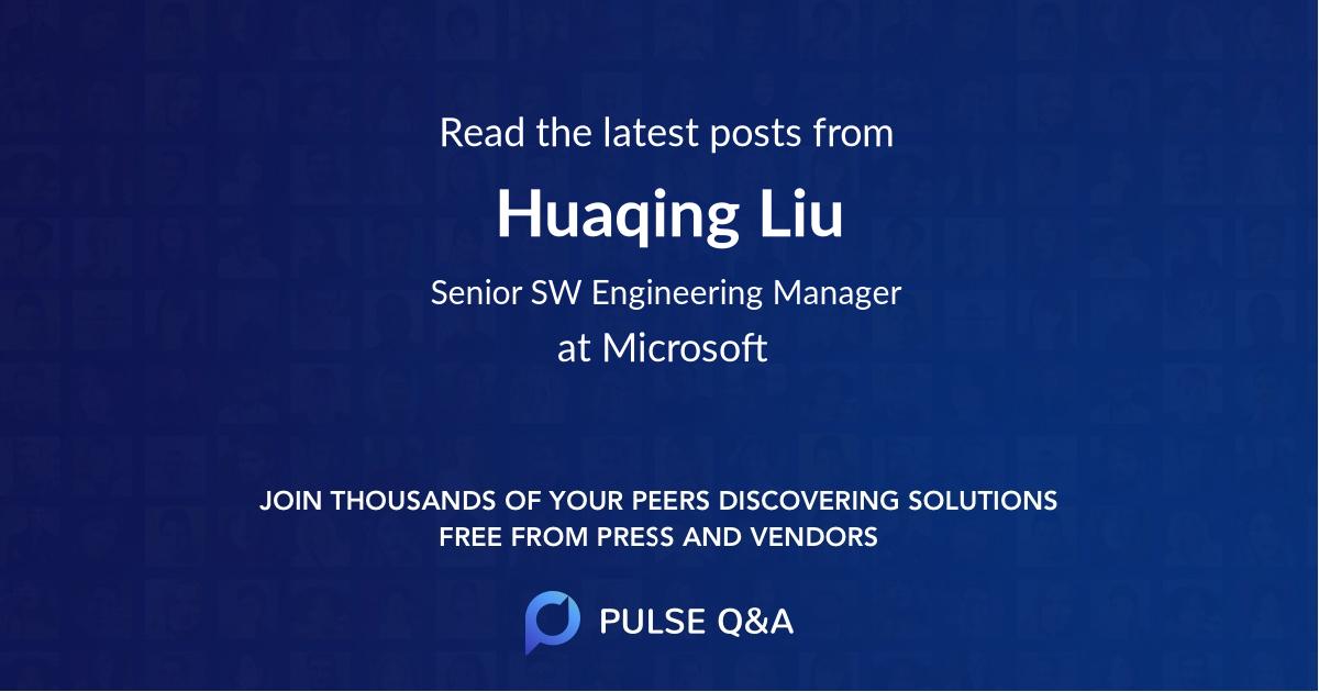 Huaqing Liu