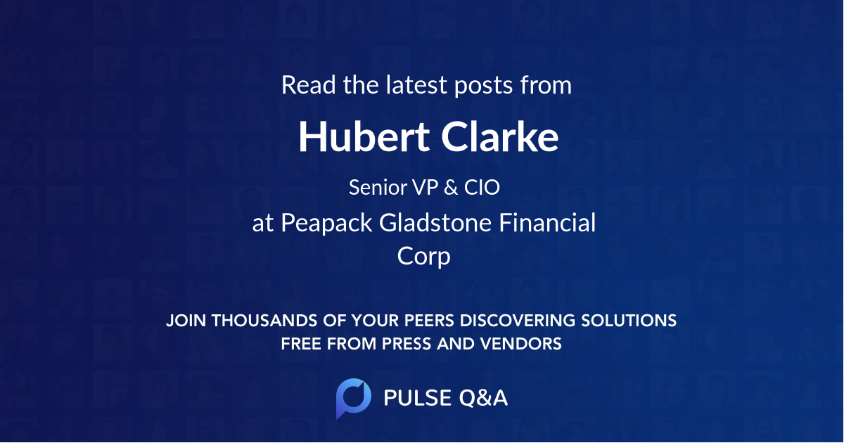 Hubert Clarke