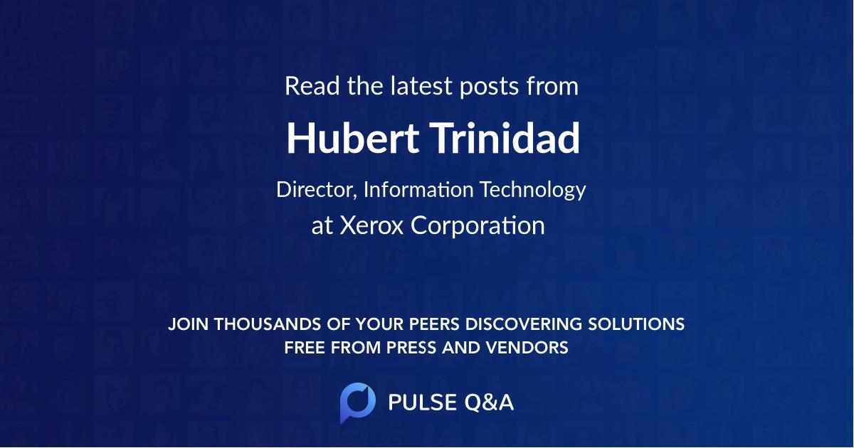 Hubert Trinidad