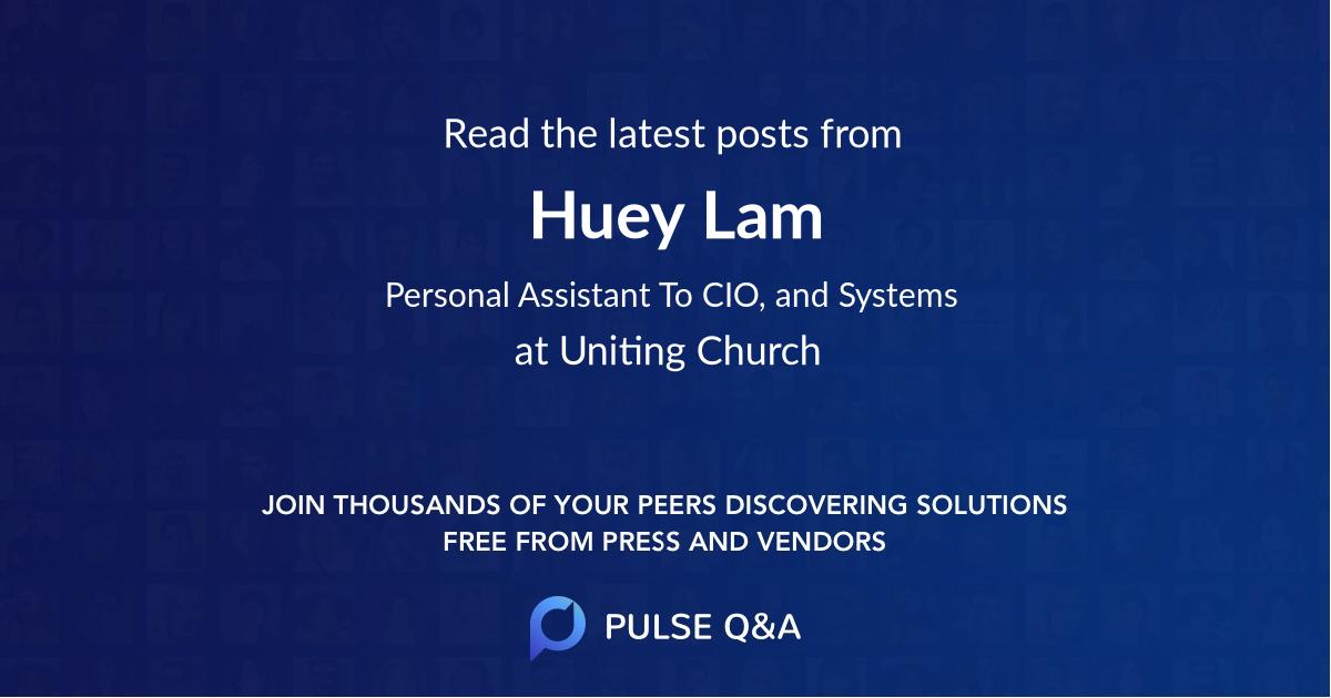 Huey Lam