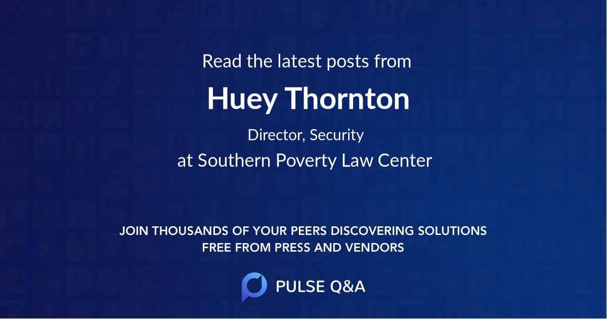 Huey Thornton