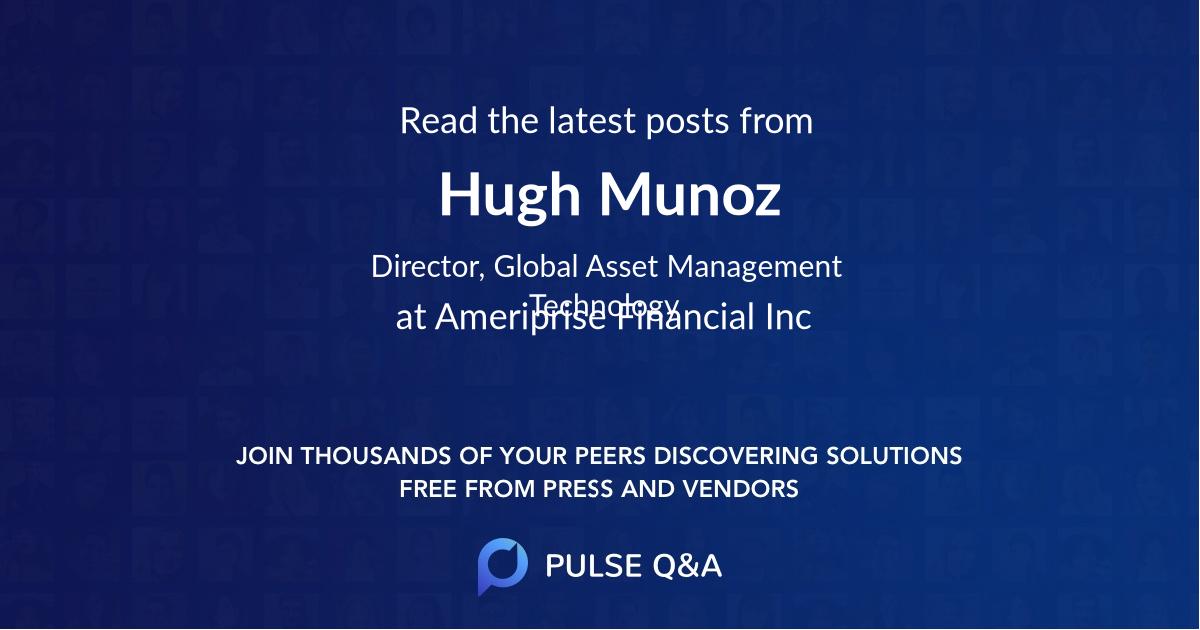 Hugh Munoz