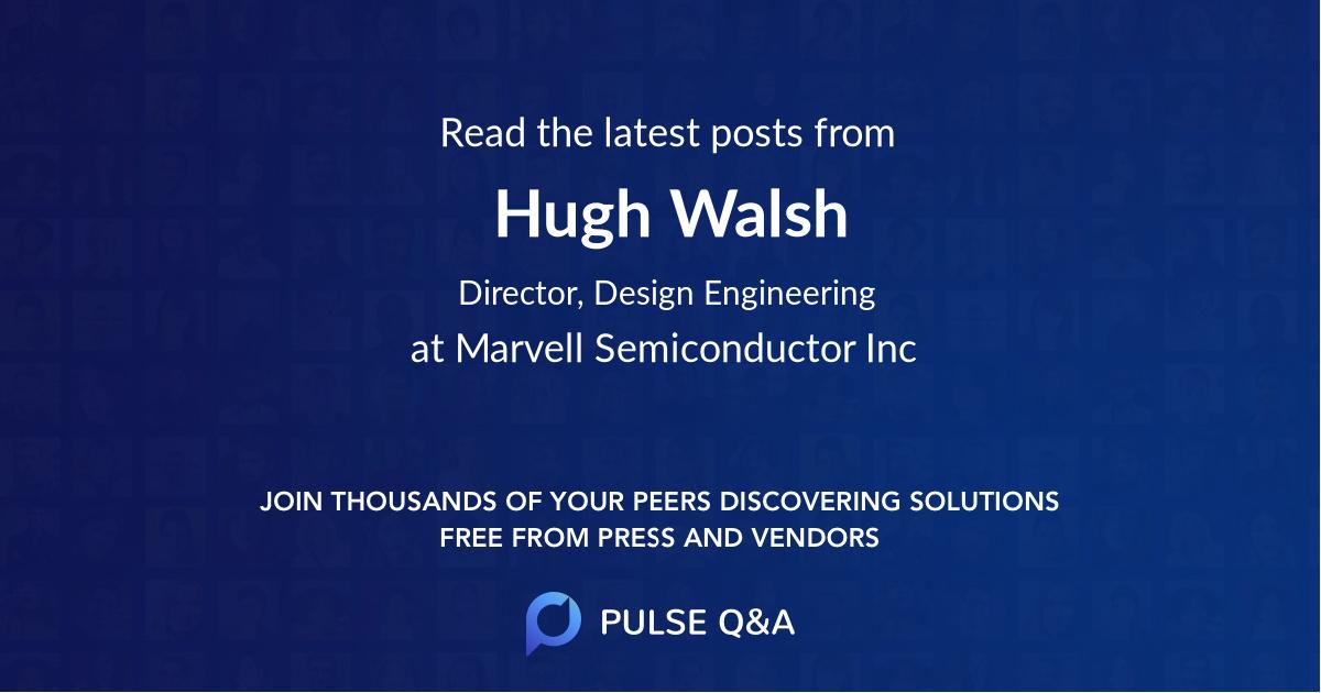 Hugh Walsh