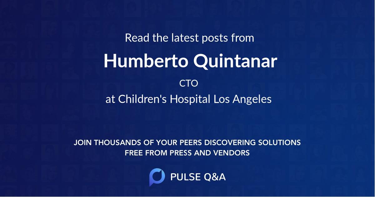 Humberto Quintanar