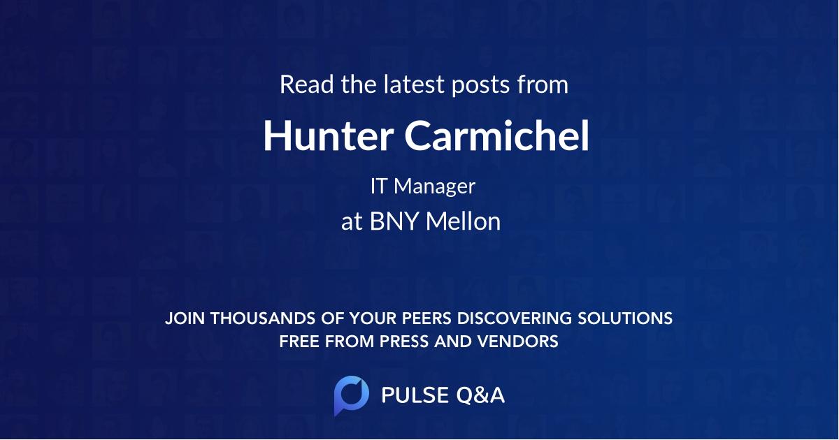Hunter Carmichel