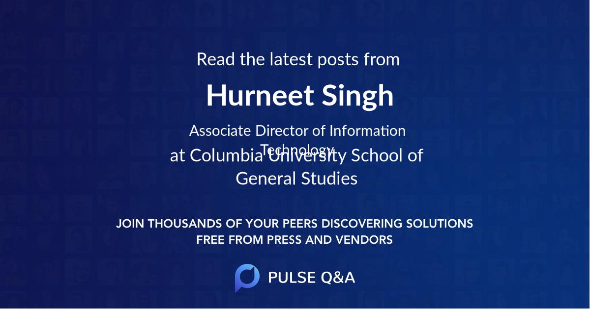 Hurneet Singh