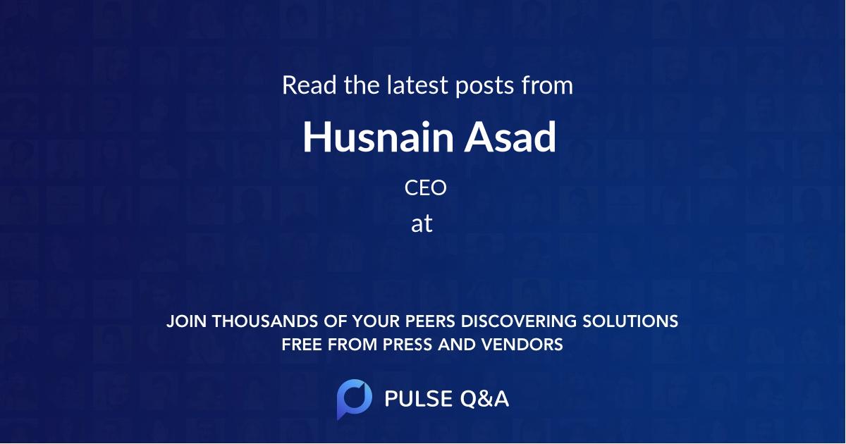 Husnain Asad