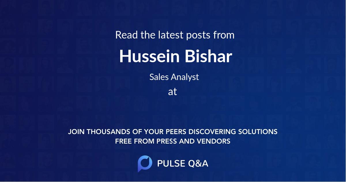 Hussein Bishar