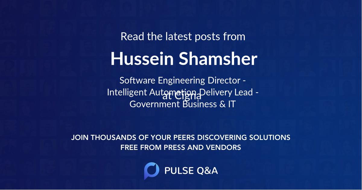 Hussein Shamsher