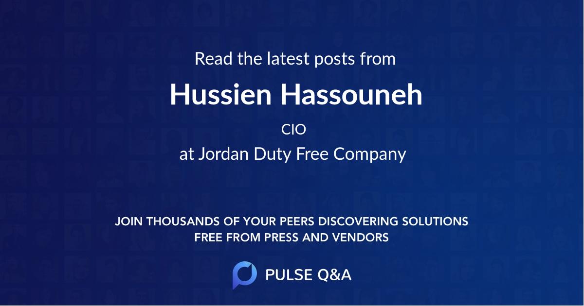Hussien Hassouneh